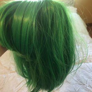 Green festival/Halloween wig